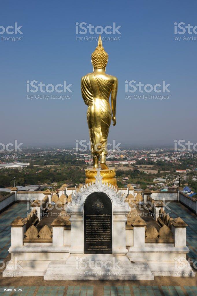 Wat Phra That Khao Noi in Nan, Thailand stock photo