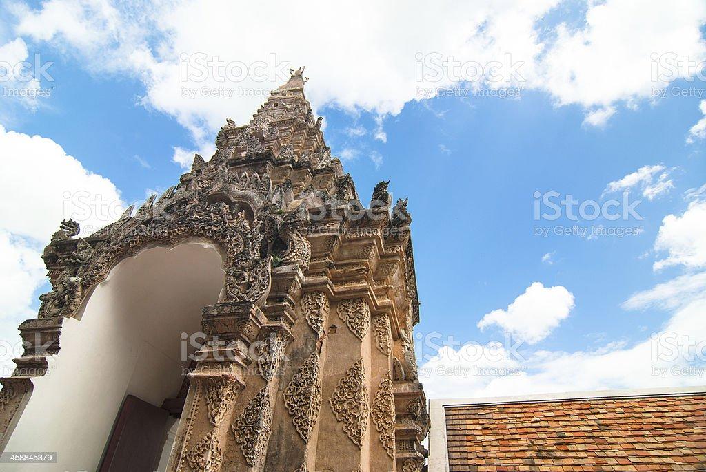 Wat Phra That zbiór zdjęć royalty-free