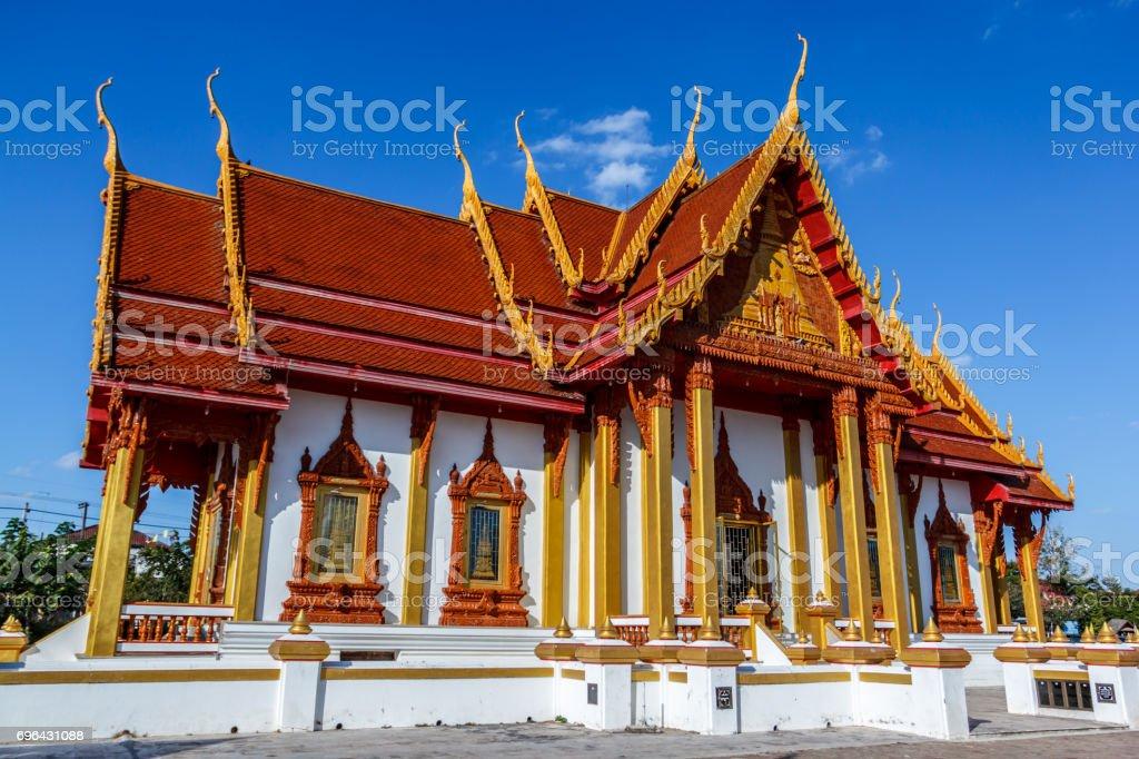 Wat Phra That Renu Nakhon stock photo