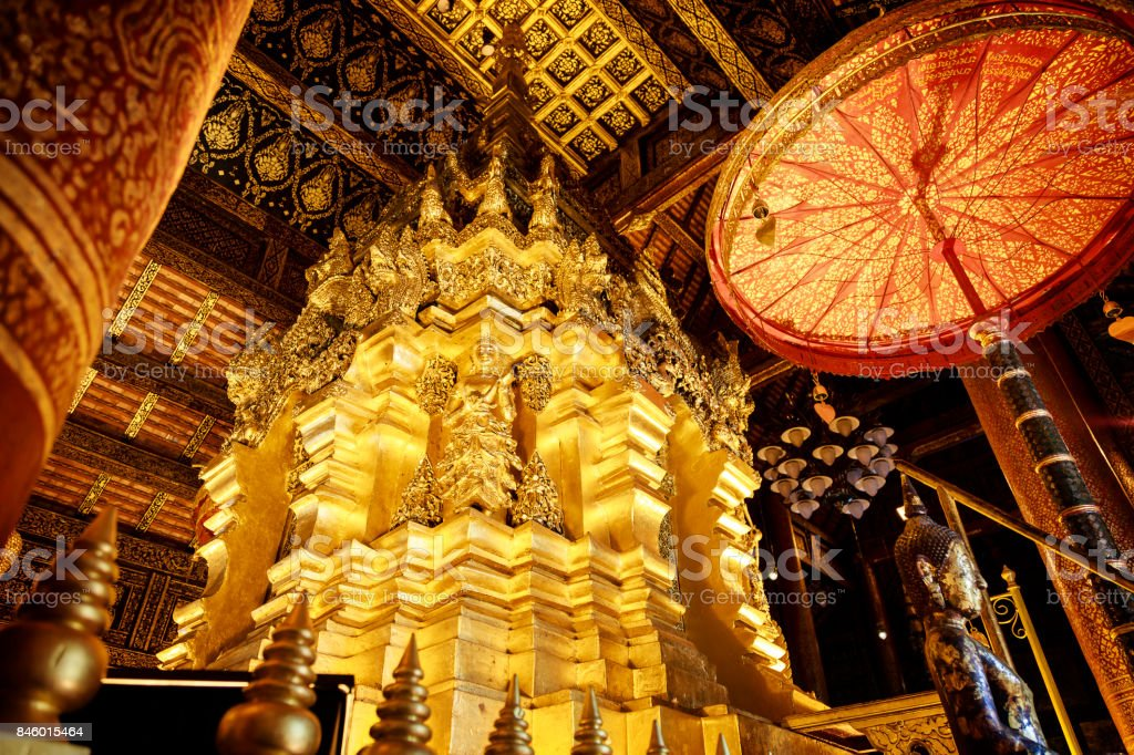 Wat Phra That Si Chom Thong stock photo