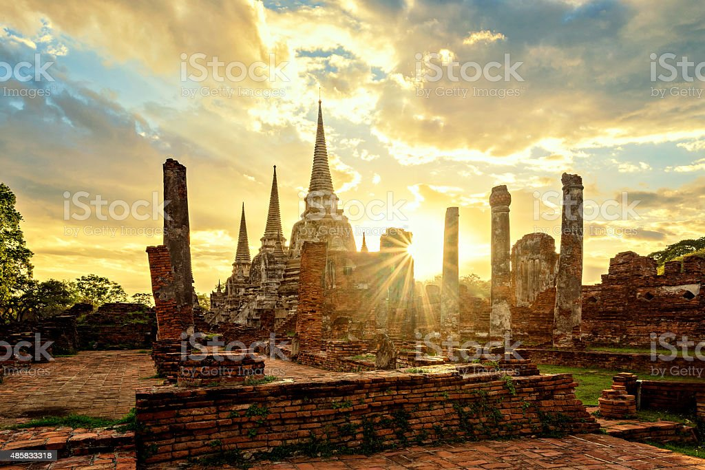 Wat Phrasisanpetch stock photo