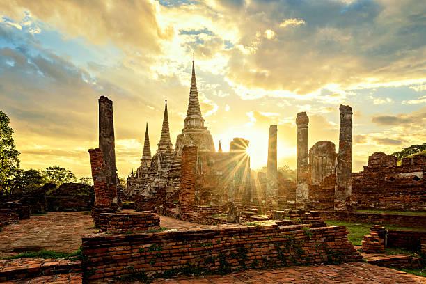 Wat Phrasisanpetch stock photo