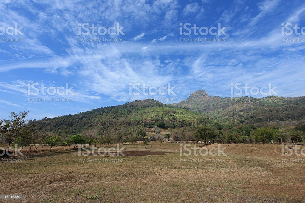 Wat Phu royalty-free stock photo