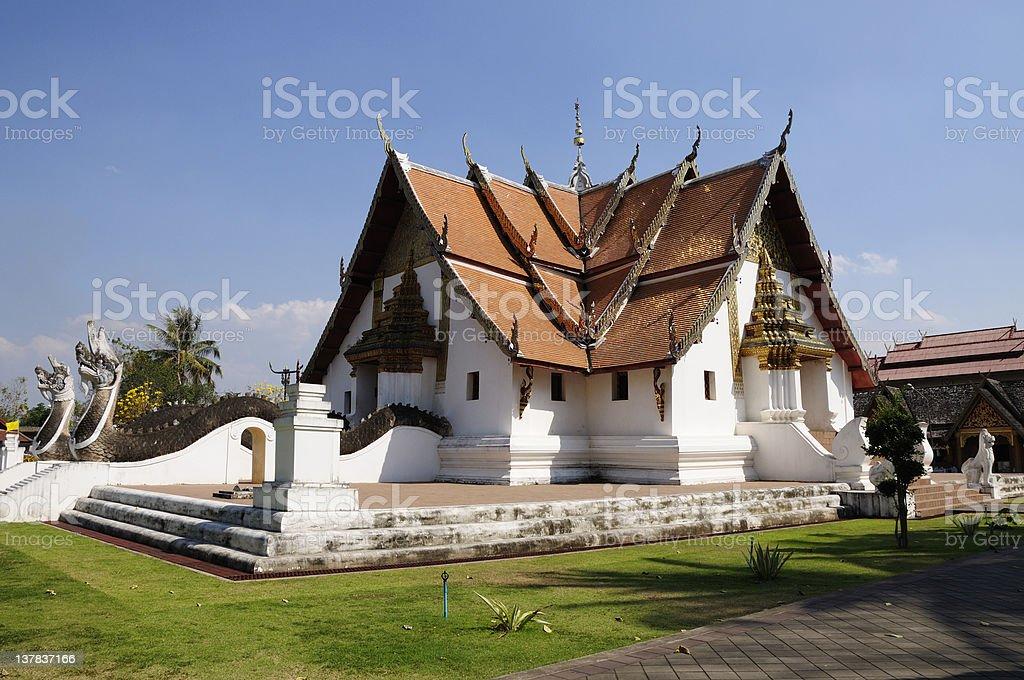 Wat Phumin, Nan royalty-free stock photo