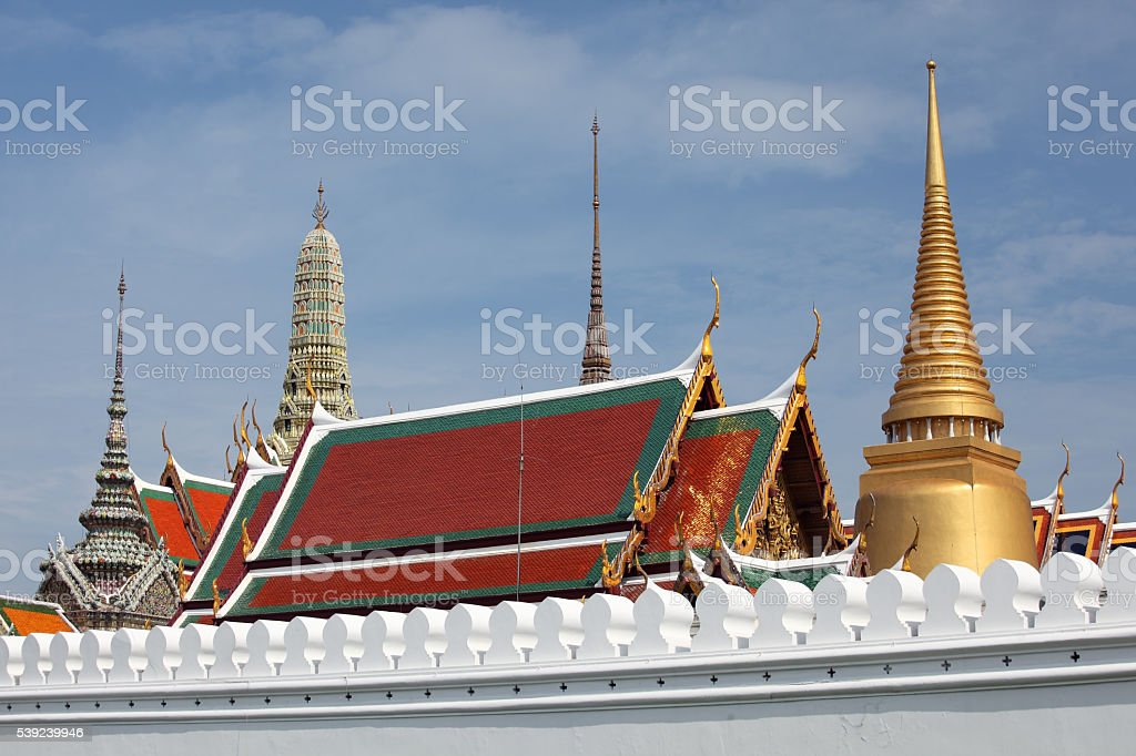Wat Pra Kaew royalty-free stock photo