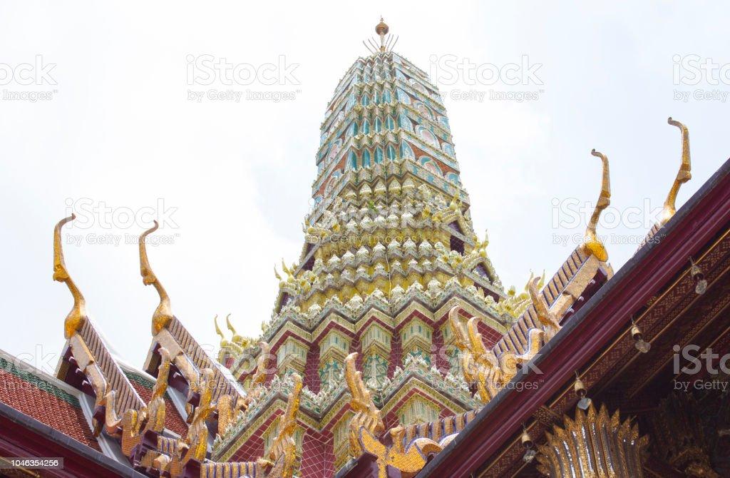 wat pra kaew thai royal grand palace building