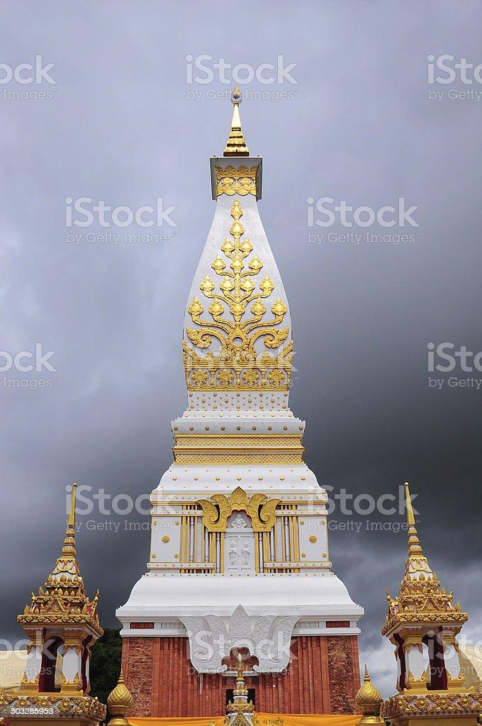 Wat Prathatphanom, Nakhonphanom province, Thailand royalty-free stock photo