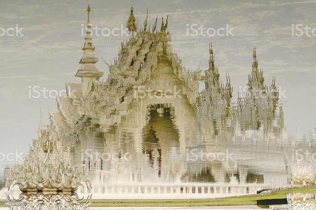 Wat Rong Khun, Thailand royalty-free stock photo
