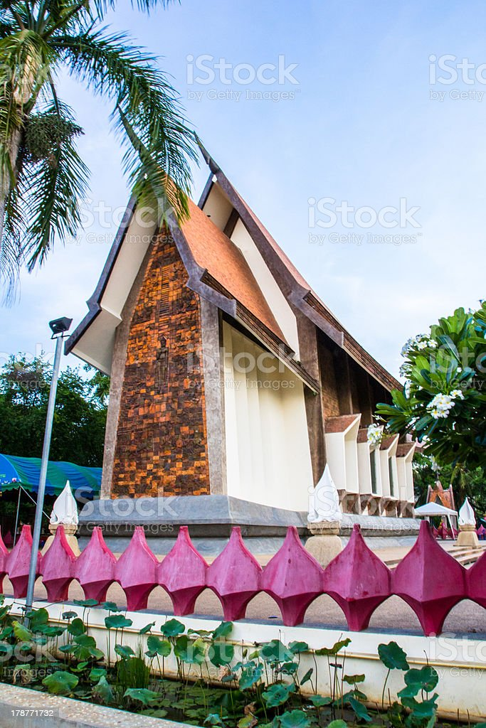 Wat Sa la loy royalty-free stock photo