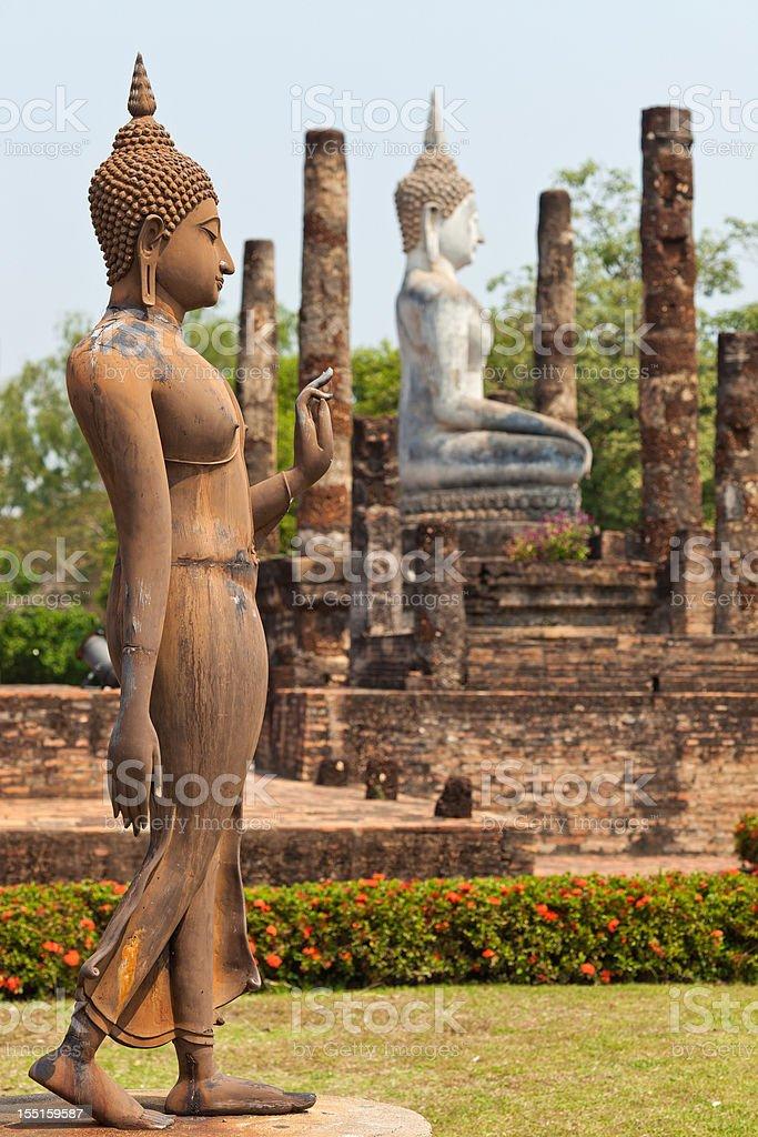 Wat Sa Si In Sukhothai, Thailand stock photo