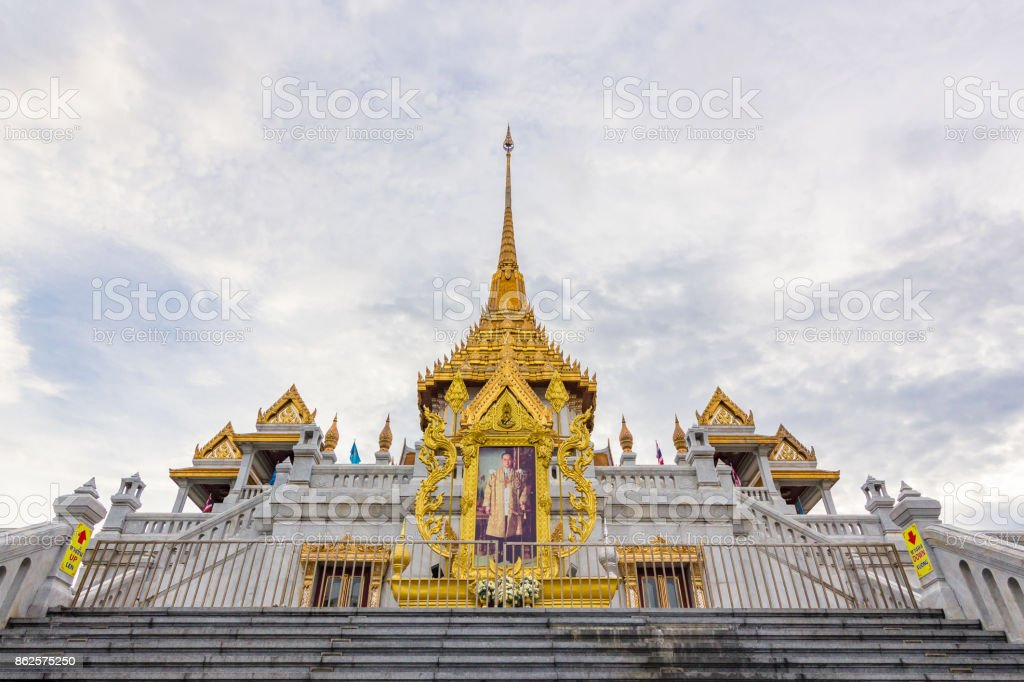 Wat Trimit stock photo