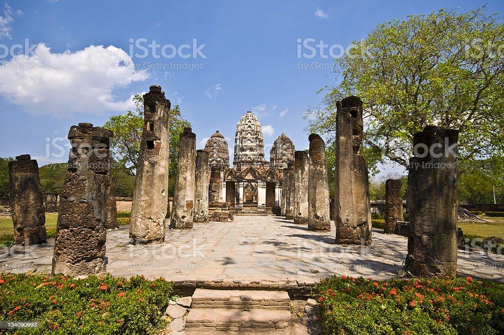 Wat Si Sawai royalty-free stock photo