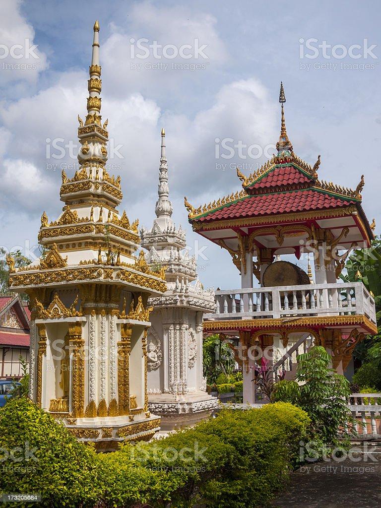 Wat Sisaket, Vientiane in Laos. stock photo