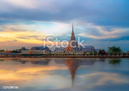 Wat Sothon Wararam Woravihan in Thailands provincial capital Chachoengsao