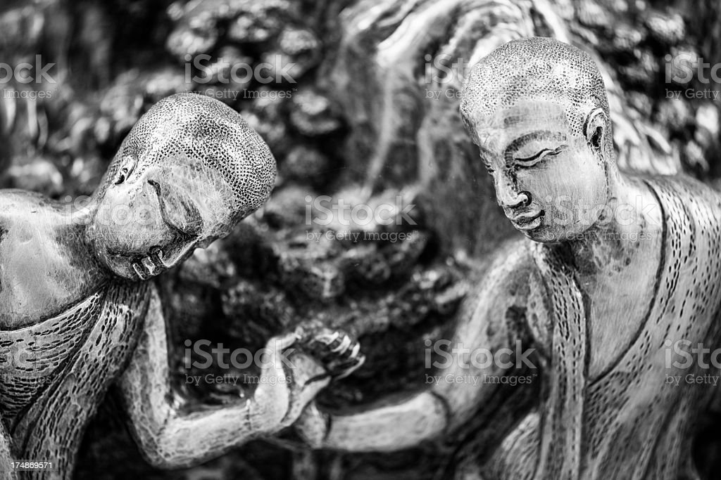 Wat Sri Suphan, Chiang Mai royalty-free stock photo