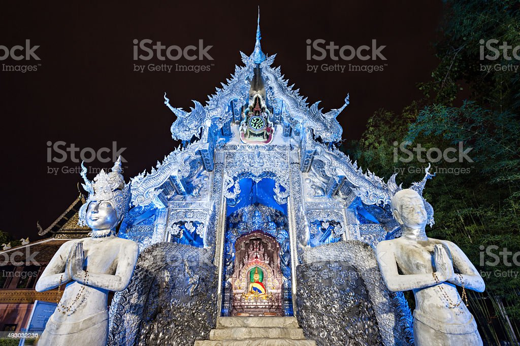 Wat Sri Suphan stock photo