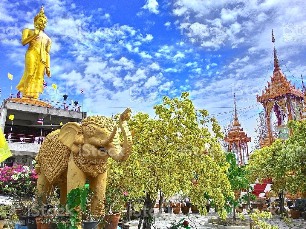Wat Tha Kham stock photo