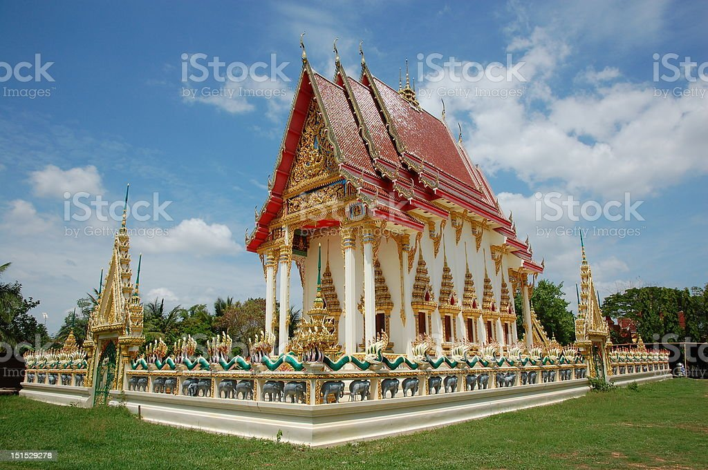 Wat Thai royalty-free stock photo