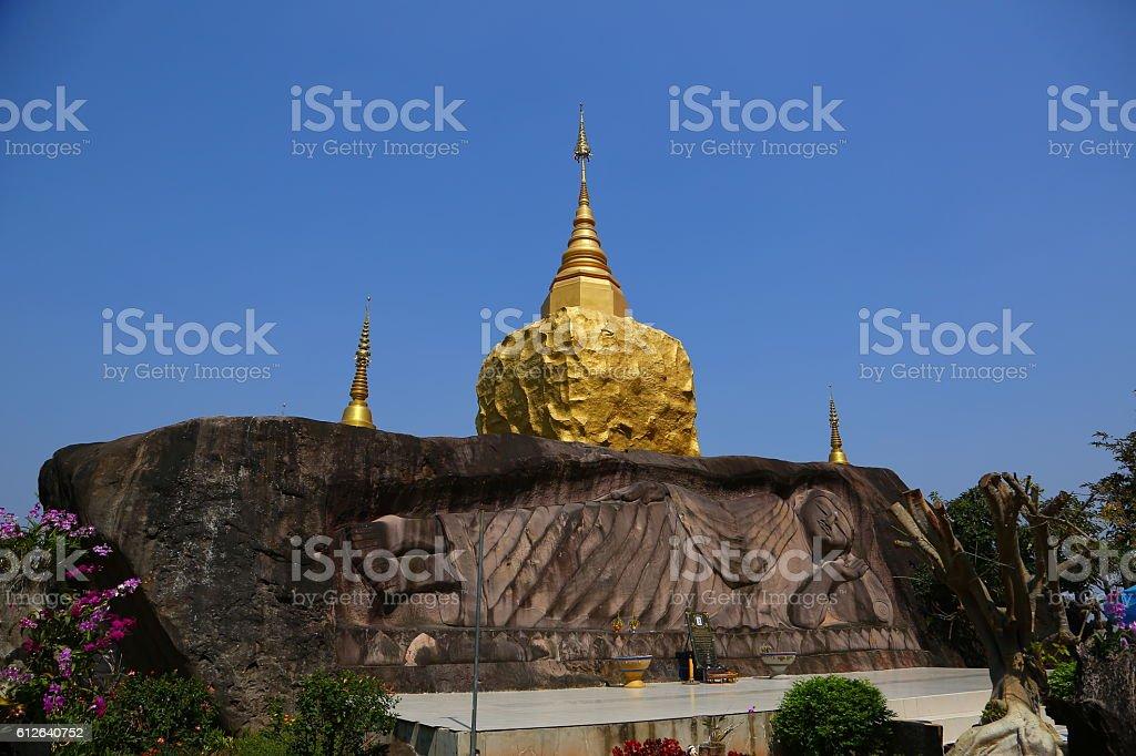 Wat Tham Pha Daen, Sakon Nakhon,Thailand stock photo