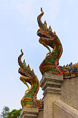 Wat Tham Pha Phlong Guard Dragons
