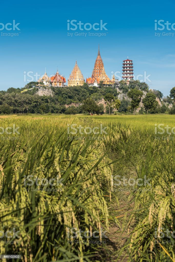 Wat Tham Sua stock photo