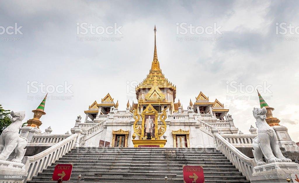 Wat Traimit stock photo