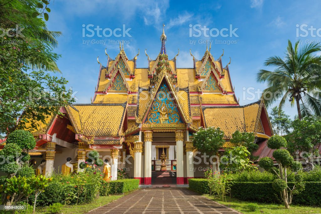 Wat Wang Wiwekaram stock photo