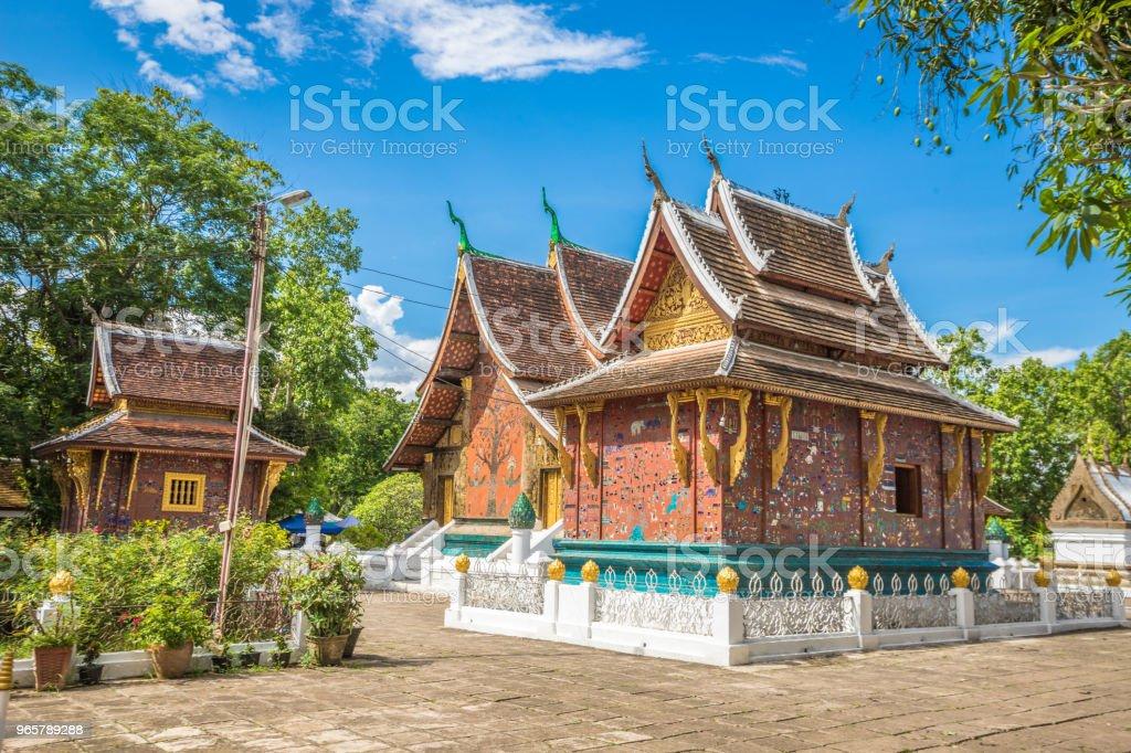 Wat Xieng Thong in Luang Prabang - Royalty-free Ancient Stock Photo