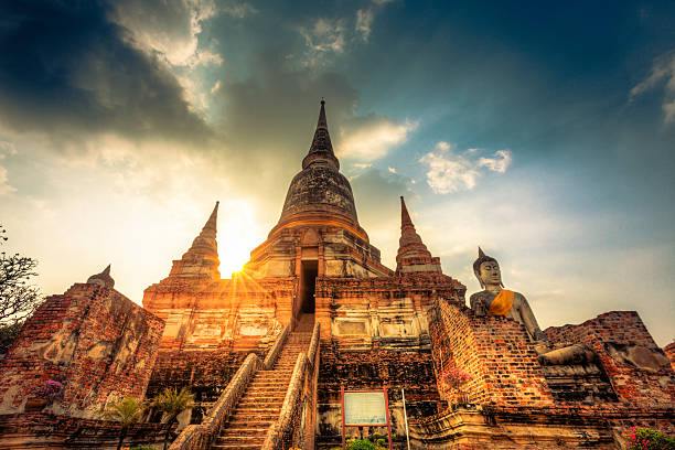 Wat Yai Chai Mongkol Bangkok – Foto