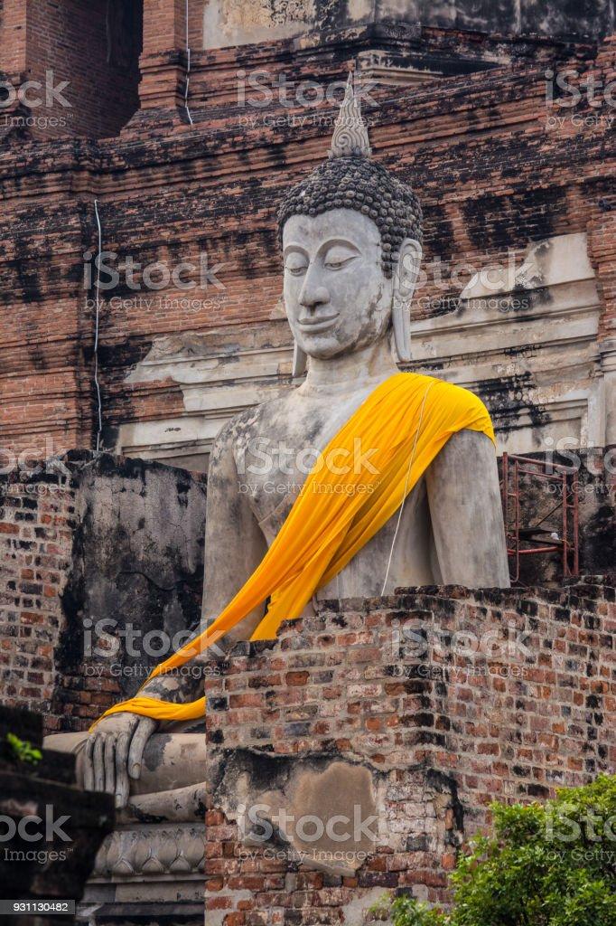 Wat Yai Chai Mongkol - Royalty-free Antik Stok görsel