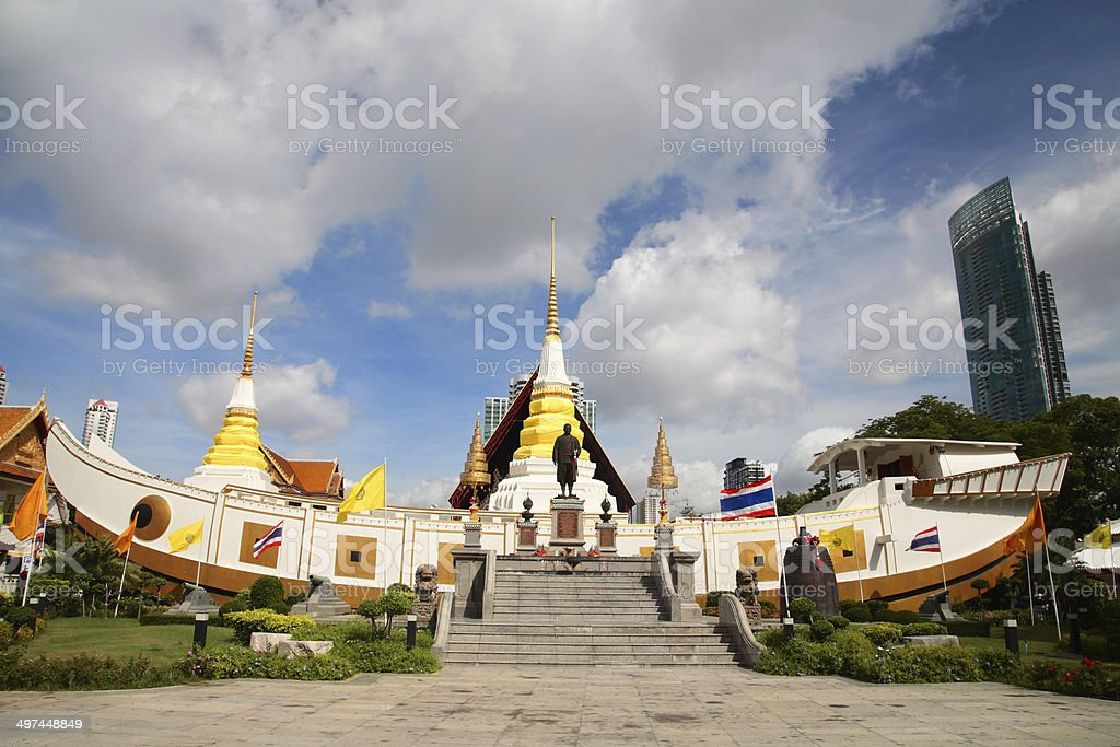 wat Yannawa in Bangkok stock photo