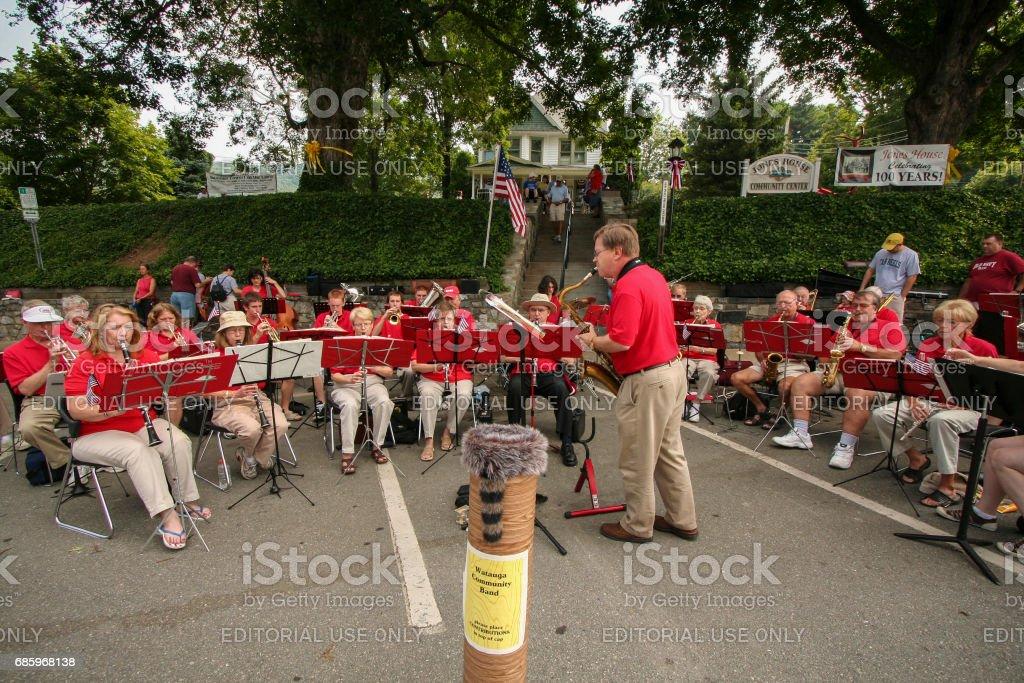 Watauga Band stock photo