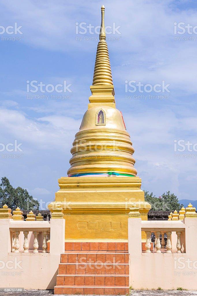 Wat-bot-meuang Temple stock photo