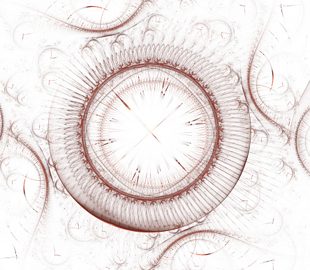 Watch 3d Digital Fractal Design Vintage Time Clock Series Design Composed Of Time And Fractal Geometry Symbols As A Metaphor On The Subject Of Past Future Time Travel And Modern Science — стоковые фотографии и другие картинки E=mc2