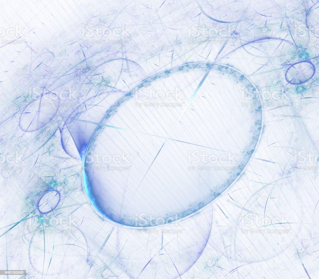 Titta på 3D digital fractal design. Vintage klocka serien. Design som består av tid och fraktal geometri symboler som en metafor om förflutna, framtiden, tidsresor och modern vetenskap - Royaltyfri Arrangemang Bildbanksbilder
