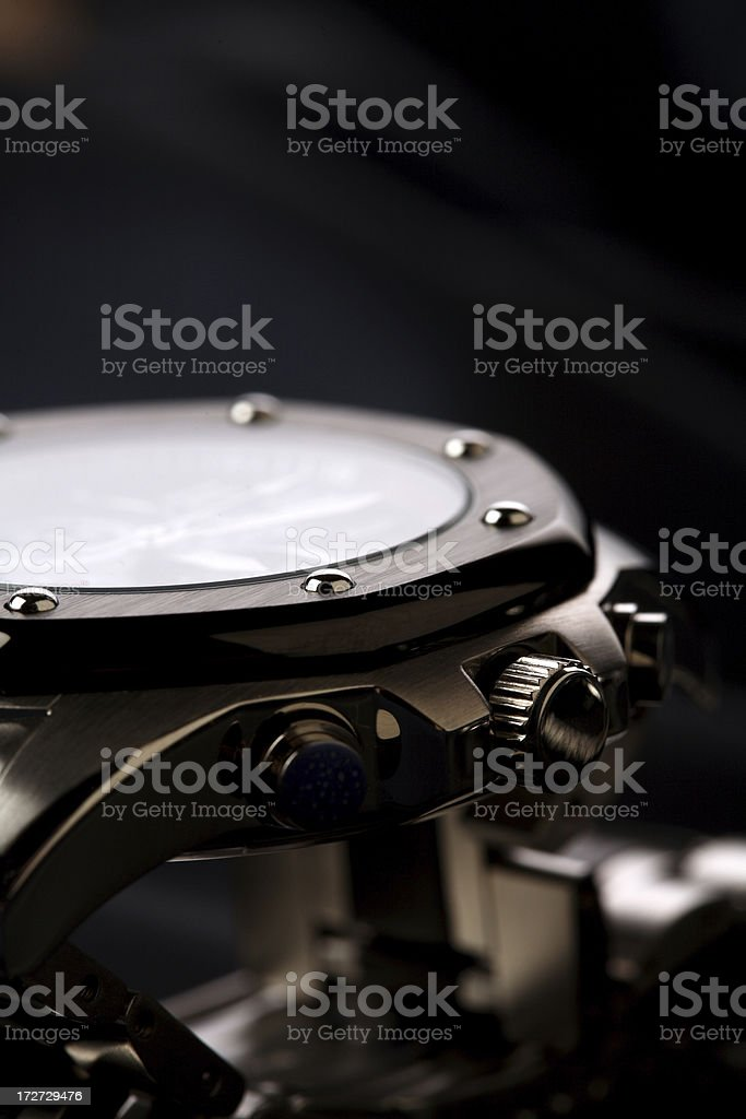 watch detail royalty-free stock photo