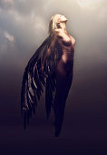 istock Watch her feminine splendor take flight 521729347