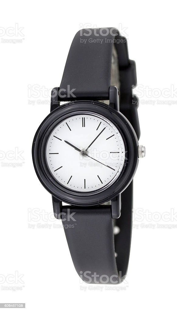Watch Isolated on white background stock photo