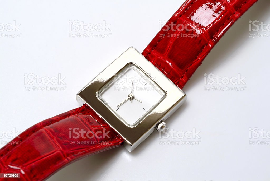 Watch royalty-free stock photo