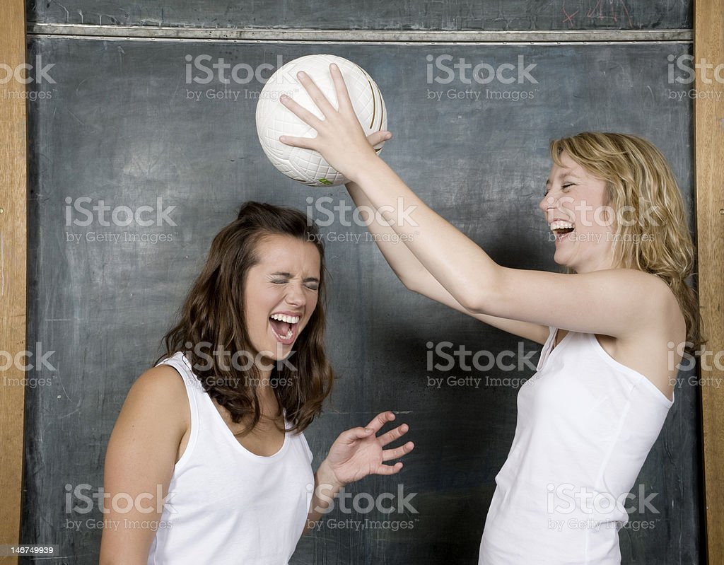 watch the ball royalty-free stock photo