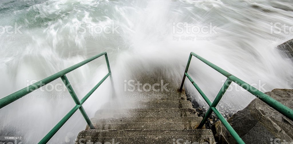 Watch Your Step royalty-free stock photo