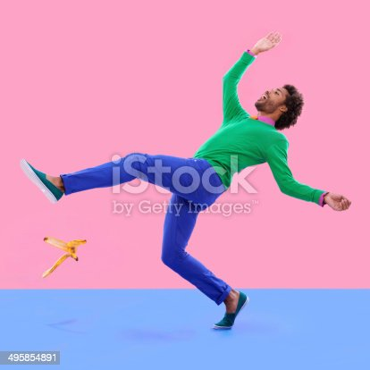istock Watch your step...! 495854891