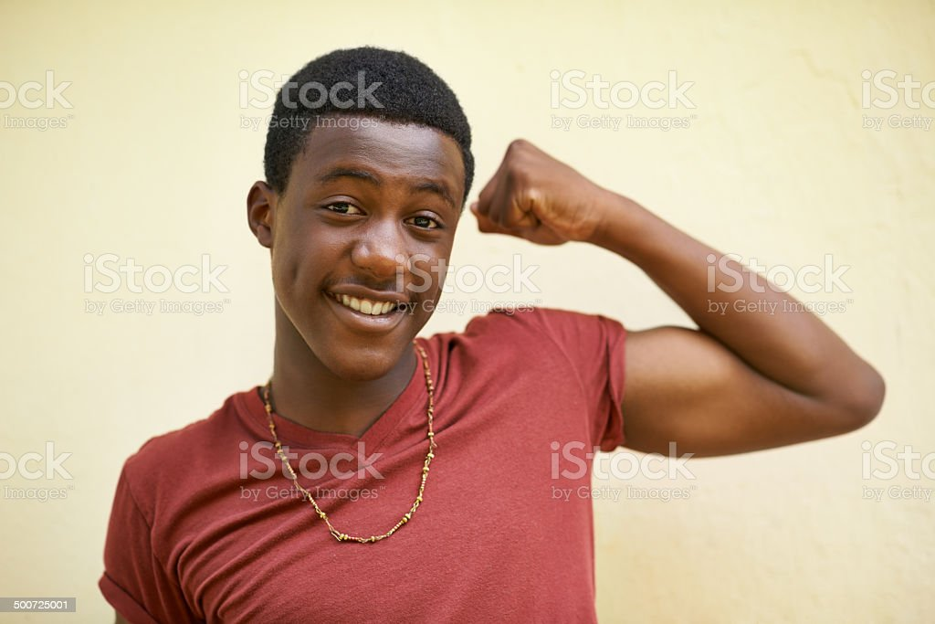 Watcha think? stock photo