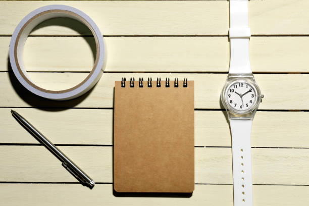 Watches and accessories 腕時計と小物 メモ stock pictures, royalty-free photos & images