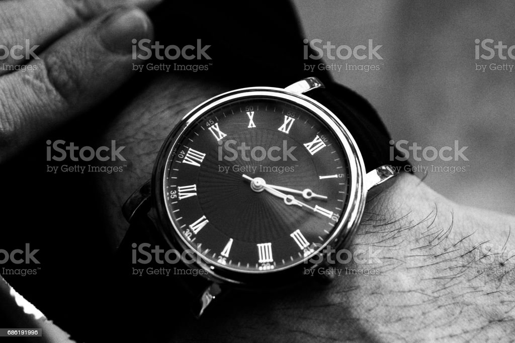Watches on the hand – Foto