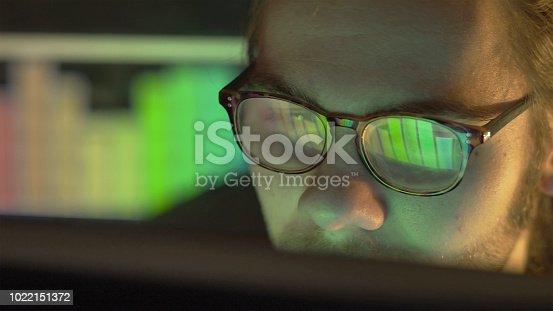 1129342100 istock photo Watching graphs 1022151372