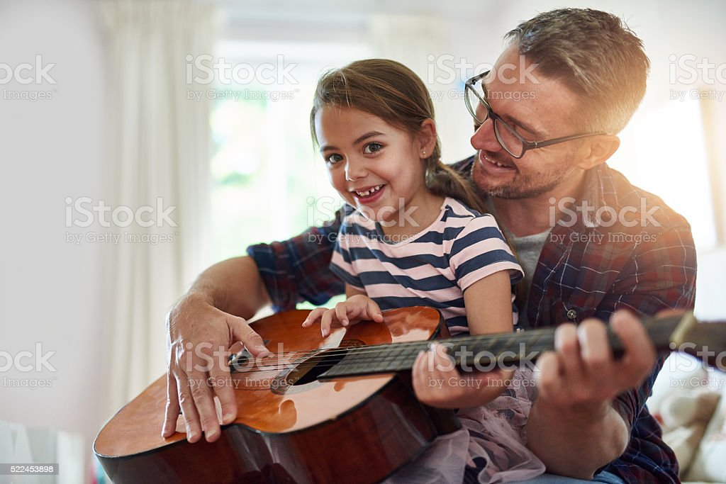 Watching her grow up is the best stock photo