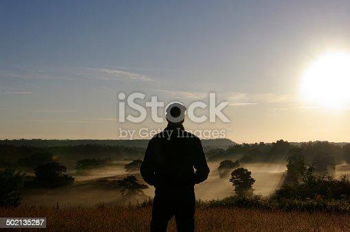 istock Watching sunrise 502135287