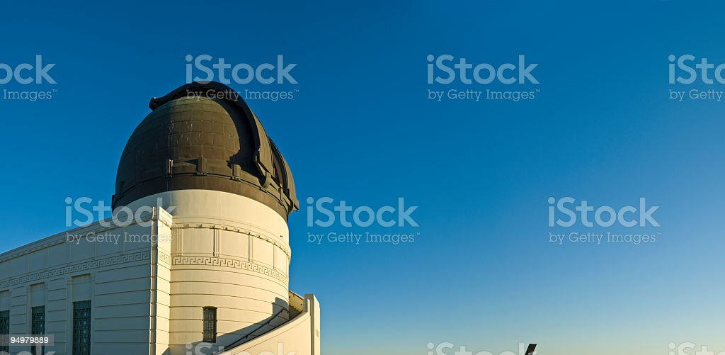 Watching the skies royalty-free stock photo