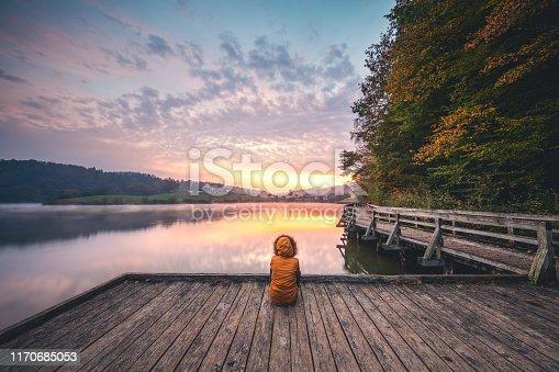 619670604 istock photo Watching The Sunrise 1170685053